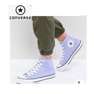 NWOT Converse high top mens 9 1/2/woman's 11 1/2
